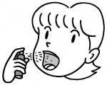 口臭予防スプレーを使う