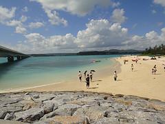 沖縄古宇利(こうり)ビーチ